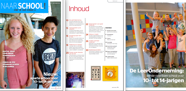 Magazine Naar School september 2016
